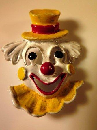 Enamel Clown Pin