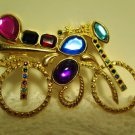 Flashy Bicycle Brooch Pin