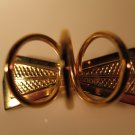 Vintage Bow Tie Pin Brooch Scarf Holder Slide