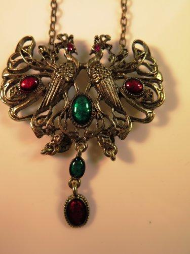 Double Phoenix Necklace NWOT