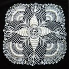 Pineapple Fans Crochet Doily Handcrafted New