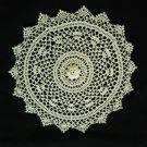 Irish Rose Crochet Doily Handcrafted New