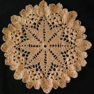 Marigold Crochet Doily Handcrafted New