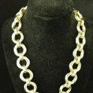 Vintage Gold Tone Chunky Chain Necklace