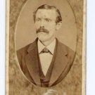 Antique Carte de Visite CDV Photograph Man School