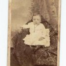 Antique Carte de Visite CDV Photograph Young Child