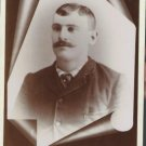 Antique Cabinet Card Photograph Man Erie PA