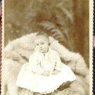 Antique Cabinet Card Photograph Child