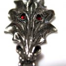 Dragon Pendant Ruby Eyes