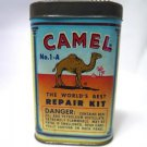 Camel Worlds BEST Tire Rubber Tube Patch Repair Kit Can Tin