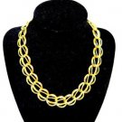 Napier Gold Tone Link Chain Necklace