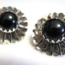 Sarah Coventry Silver Tone Earrings Clip On