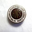 HNS Enamel Guilloche Lapel Pin