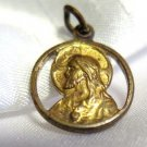 Vintage Gold Religious Charm Jesus Sacred Heart