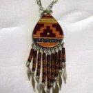 Ethnic Look Drop Necklace Dangle