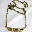 Vintage Caroline Enamel Necklace