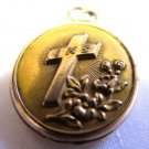 IHS Gold Locket Fold Out Medal