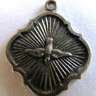 Silver Charm Pendant Phoenix Vintage
