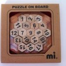 mi Puzzle on Board Wooden Game Puzzle
