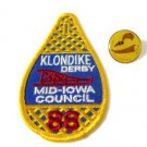 Boy Scouts Klondike Derby Medal Award and Patch 1988