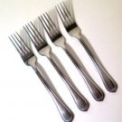 International Silver Nouveau Dinner Forks Stainless Set of 4