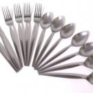 Epic Prince Stainless Flatware Satin Japan 13 PCS