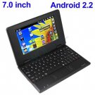 7inch Android Tablet BLACK Laptop Netbook Installed WiFi 4gb/256mb (Pouch Case, Charger, Mouse)