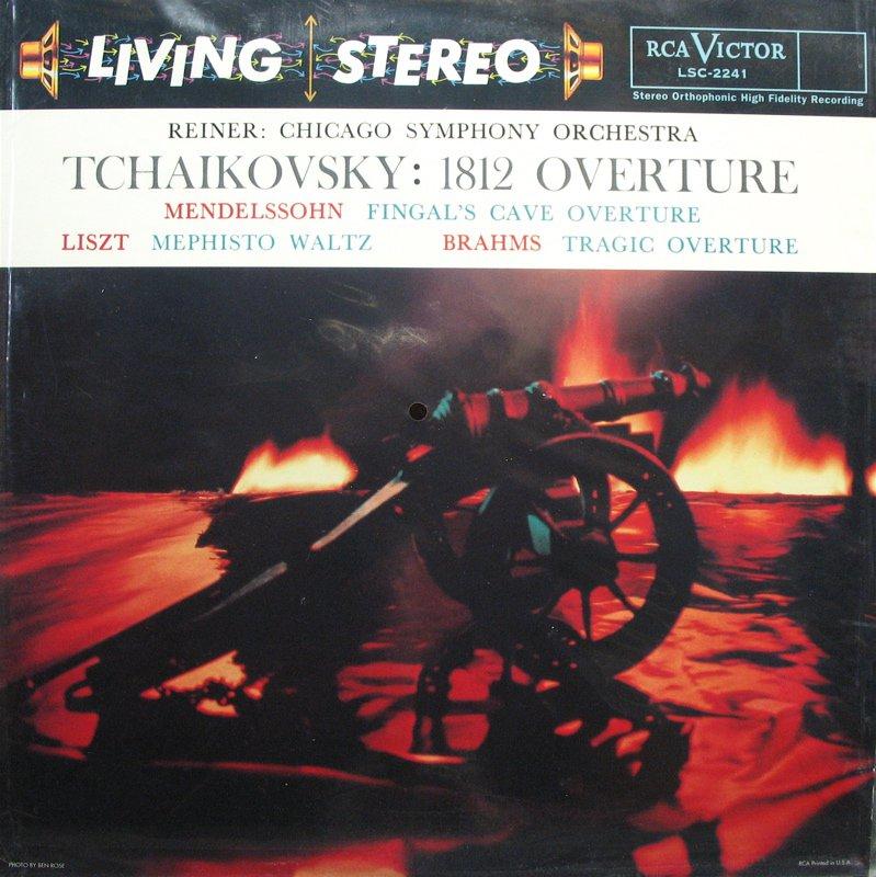 TCHAIKOVSKY 1812 Overture REINER RCA/Classic LSC-2241 NEW & SEALED 180g LP