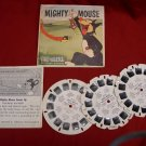 View-Master Sawyer Mighty Mouse B526 reel packet set of 3 reels and booklet 1958