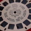 3 View-Master reels, Gettysburg, 7 Modern Wonders of the World, Home of Santa's Workshop