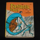 Fantastic Four, paperback cover 1968 Big Little Book, Whitman, House of Horrors