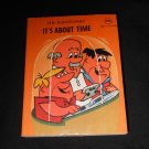 The Flintstones, 1977 Hanna Barbera, mini flip book, Fred Barney; It's About Time
