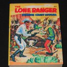 Lone Ranger, 1968 Big Little Book, PAPERBACK, Whitman; Lone Ranger Outwits Crazy Cougar