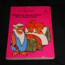The Flintstones, 1977 Hanna Barbera, paperback mini flip book; Pebbles & Bamm-Bamm Meet Santa Claus