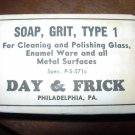 vintage Day & Frick soap in original package, 1800's