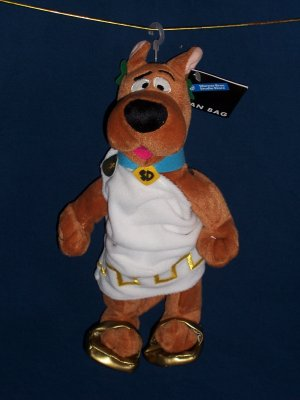 Roman Toga Scooby Doo Bean Bag from WB Studio Store FREE SHIPPING