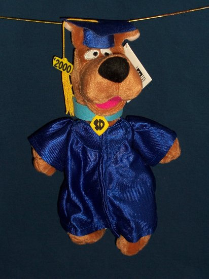 Graduation Scooby Doo Bean Bag from WB Studio Store FREE SHIPPING