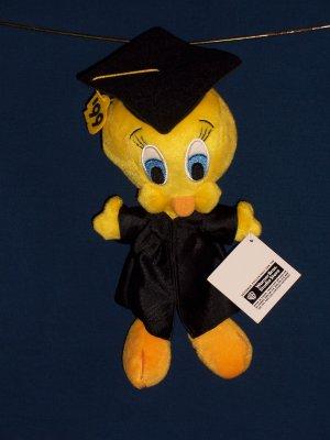 Graduation Tweety Bean Bag form WB Studio Store FREE SHIPPING