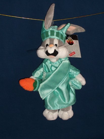 New York Bugs Bunny Bean Bag from WB Studio Store FREE SHIPPING