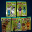Large UNOPENED Scooby, Shaggy, Fred, Velma, & Daphne Action Figures FREE SHIPPING