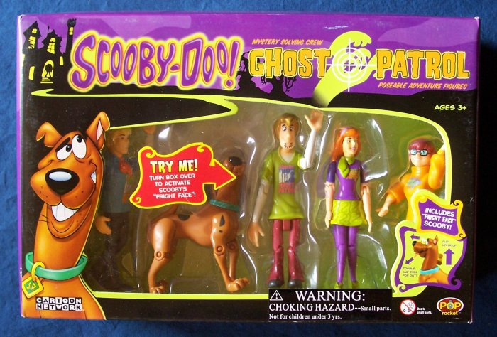 Scooby Doo Ghost Patrol Figures - Fred Scooby Shaggy Daphne & Velma FREE SHIPPING