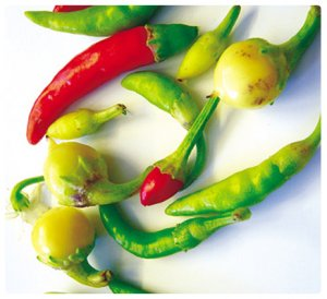 Mixed Ornamental Pepper 50 Seeds (Anatolian - Fresh)