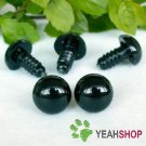 25mm Black Safety Eyes / Plastic Eyes - 5 pairs
