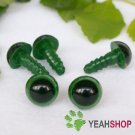 9mm Green Safety Eyes / Plastic Eyes / Animal Eyes - 5 Pairs