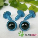 12mm Blue Safety Eyes / Plastic Eyes / Animal Eyes - 5 Pairs
