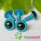 15mm Blue Safety Eyes / Plastic Eyes / Animal Eyes - 5 Pairs