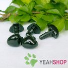 10mm Black Triangle Safety Nose / Plastic Nose / Animal Nose - 10 pcs