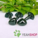 15mm Black Triangle Safety Nose / Plastic Nose / Animal Nose - 5 pcs