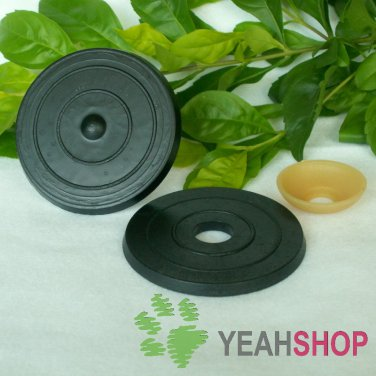 30mm Doll Joints / Animal Joints / Bear Joints / Safety Joints - Black Color - 4 Sets
