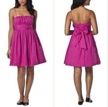 NWT Luella Bartley for Target 50s Retro Hot Fuschia Pink Full Party Dress 7 XS/S